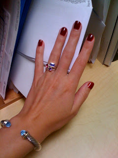 Fast dry manicure