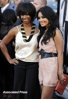 Monique Coleman, left, and Vanessa Hudgens