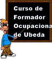 Enlace del blog del curso de Formador ocupacional de Ubeda
