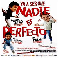 Cartel de la pelicula titulada Va a ser que nadie es perfecto