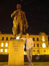 Estátua de Dvorák, em Praga (Rep. Tcheca) - Statue lui Dvorak, în Praga (Cehia)