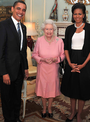 The Queen & the Obamas