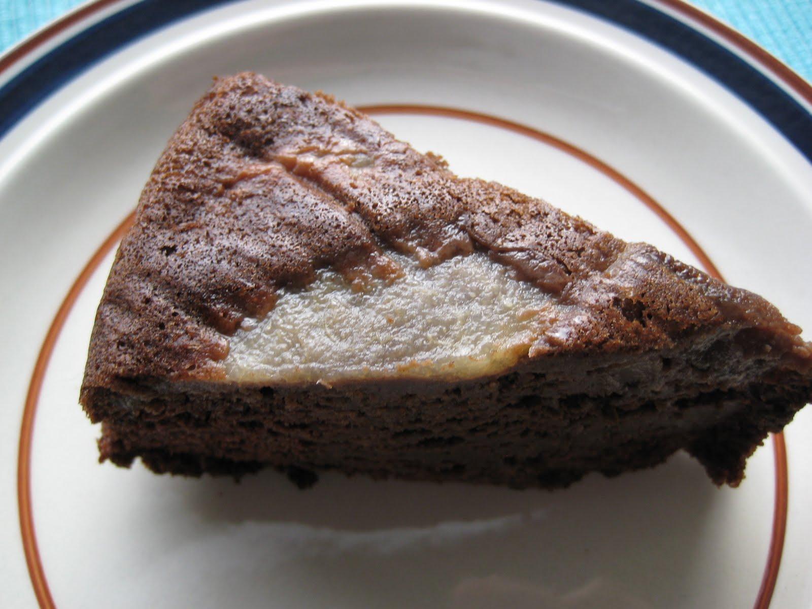 [pear+cake]