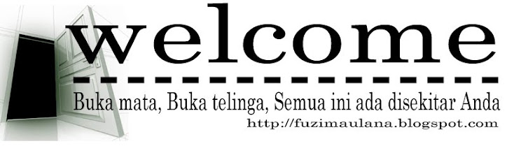 Selamat Datang di Fuziblog