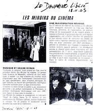 Dauphiné Libéré les mirroirs du cinéma 2005