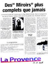 LE CLAP édition 2005 La Provence