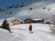 In montagna d'inverno