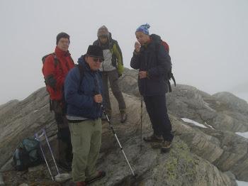 Cresta di confine Macugnaga-Saas, 2900 m circa - 19 giugno 2010