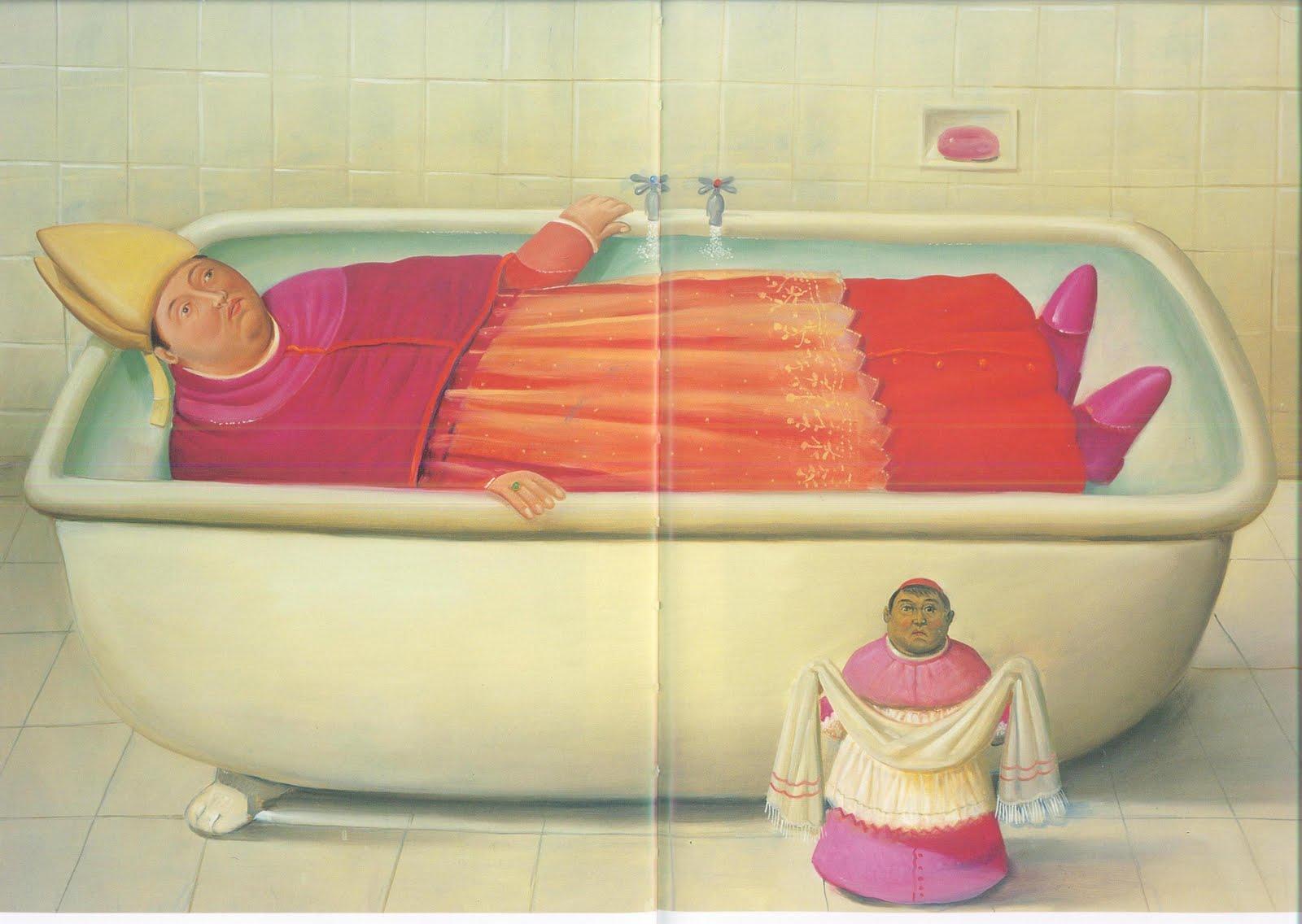 Cup3tint3 fernando botero - Botero uomo in bagno ...