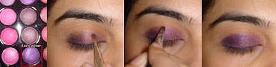 Simple Purple Smokey Eye Tutorial