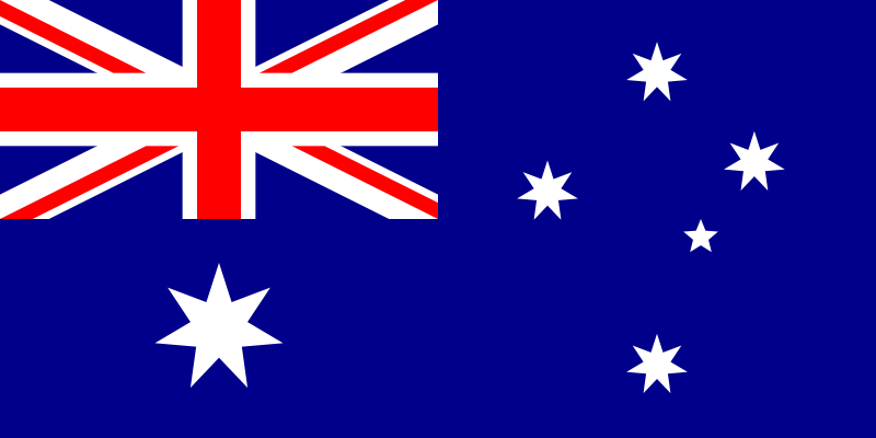 australian flag skin rip tattoo - rate