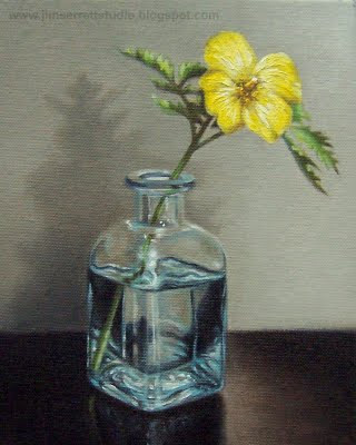 Oil Painting Correcting Mistakes