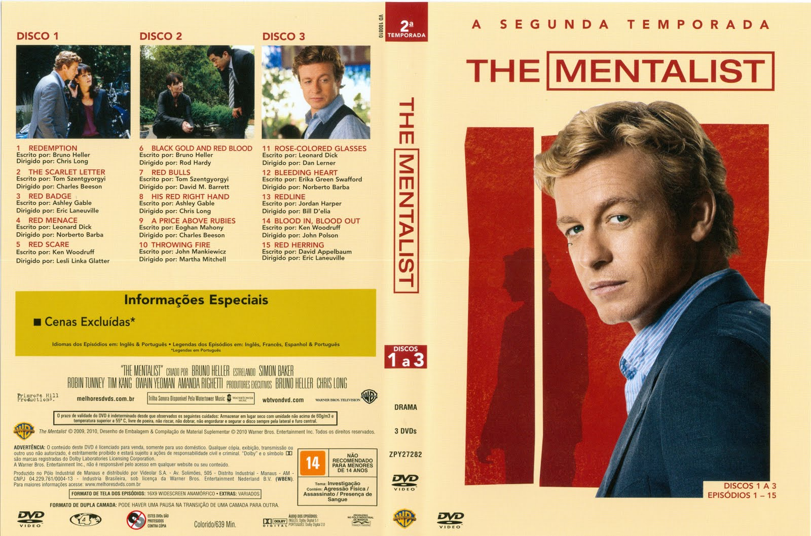 O mentalista 3 temporada download