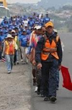 CAMINATA desde GUATEMALA a