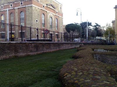 Terme romane o villetta abusiva in quel di Porta Maggiore?