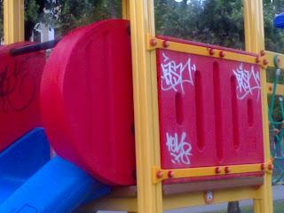 La preghiera contro i graffitari