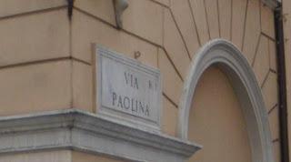 E anche oggi Via Paolina
