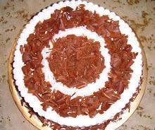 CHOCOLATE FLAKE CHEESE CAKE