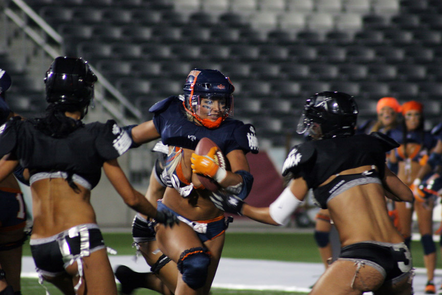 IT'S A BIG WEEK FOR LINGERIE FOOTBALL, TOO