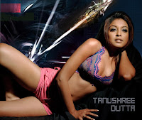 TanuShree Dutta in Short Skimy Skirts