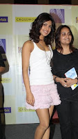 Babe Priyanka Chopra in a Short Pink Skirt