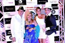 EU, GLAÚCIA CARDOSO(BARBER BEAUTY), KARINA IENO (GUIA PARA NOIVAS) E DOUGLAS CAMPOS( BUFFET)
