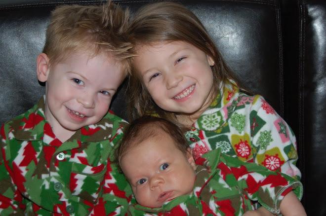 My Christmas PJ babies