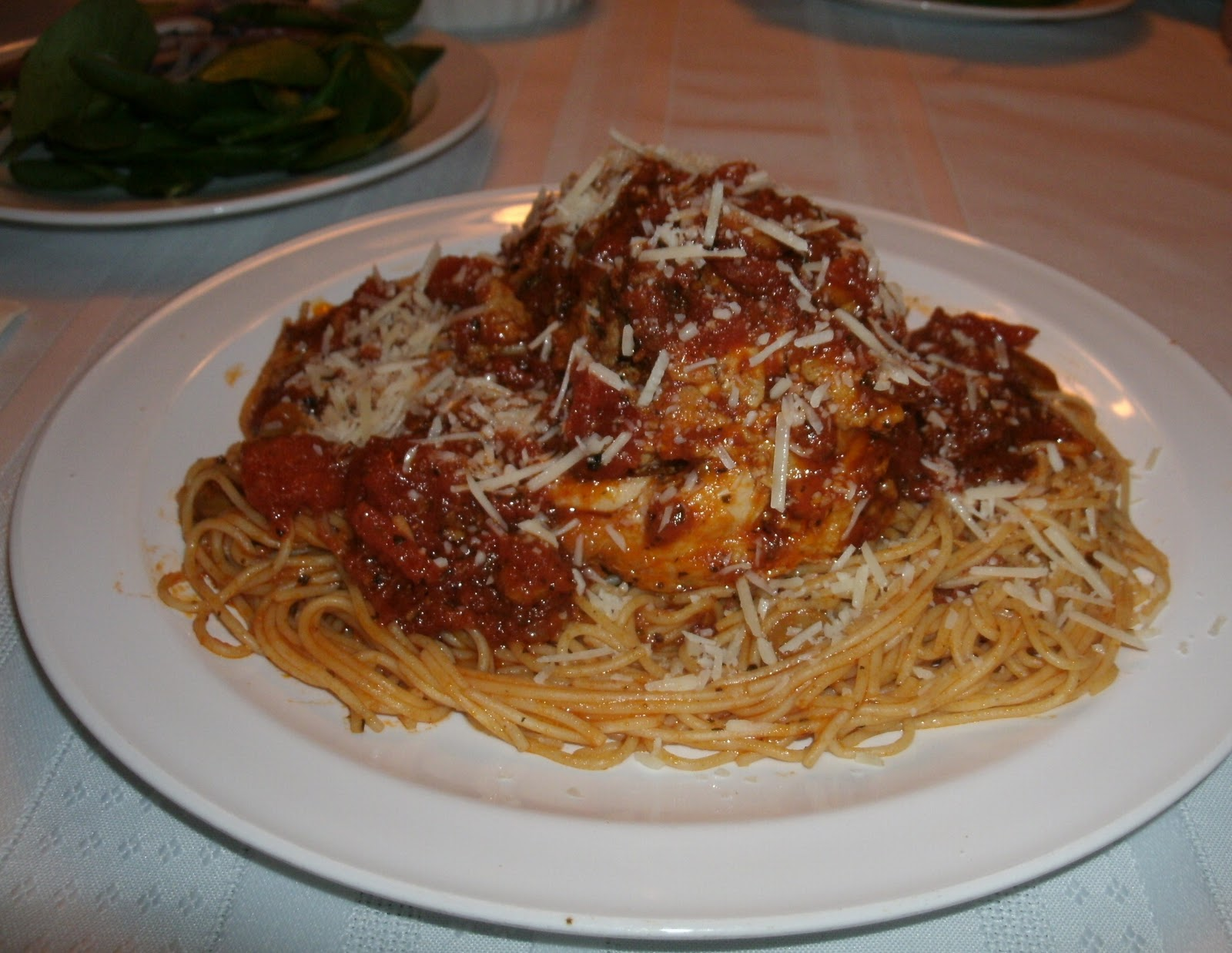Italian Chicken with Pasta