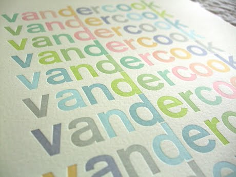 Vandercook Centennial