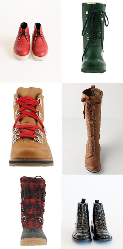 Lace Up Boots. Lace-up Boots for Fall by