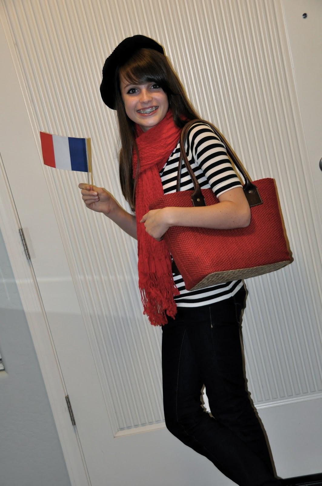 French Woman Halloween Costume orange you glad: you'r...