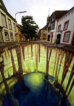 Ζωγραφική δρόμων (3d street art