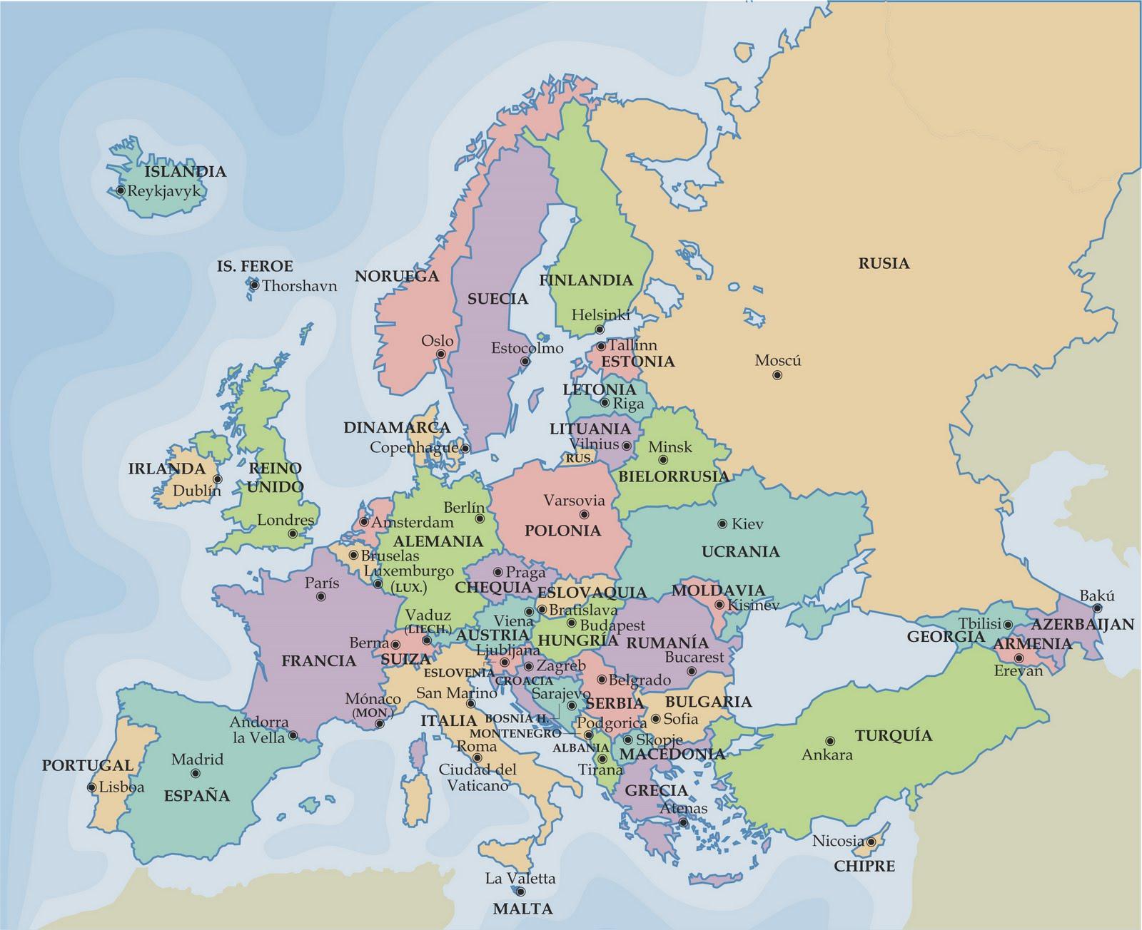 Países del ContinenteEuropeo