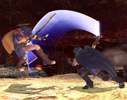 Marth vs. Ike