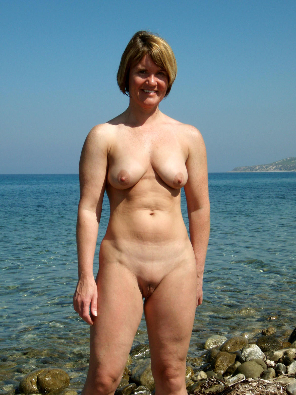nudist nude