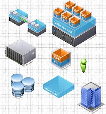Vmware Icons Diagrams Electrical Work Wiring Diagram