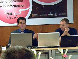 Miguel Ángel Morcuende y Sergio Martínez en el SICARM