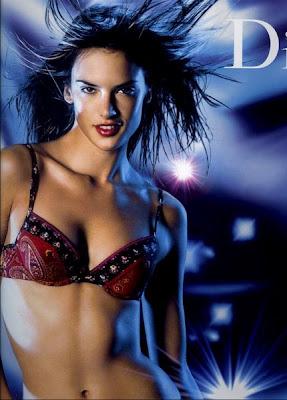 Brazillian Model Alessandra Ambrosio