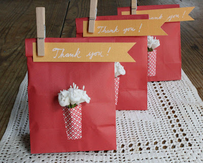 Sucateando embalagem para presente for Pinterest thank you gift ideas