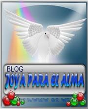 """Este blog tiene el premio """"Joya para el alma"""""""