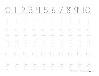 Letters &amp- Numbers Tracing Worksheet | Printable Worksheets ...