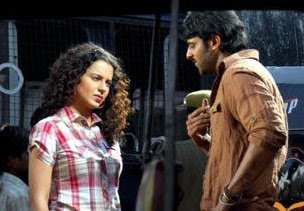 Prabhas and Kangana in ekniranjan