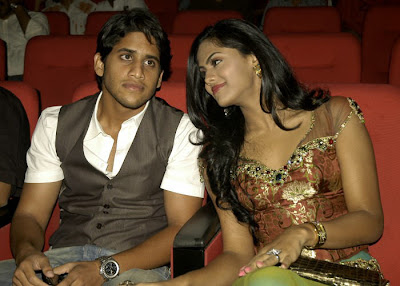 Karthika and Nagachitanya Stills in Josh, Gallery Romance Stills