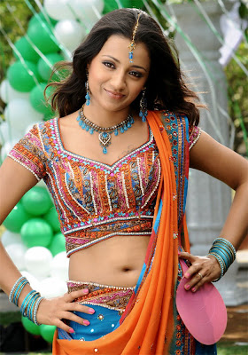 Trisha semi nude, ass Show, Boobs Cleavage Gallery, Stills, Spicy pic in Sankham