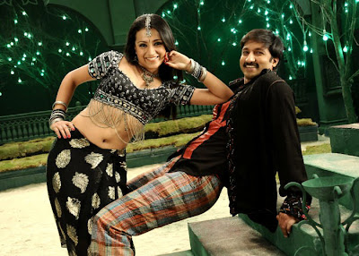 Trisha Ass Sexy Legs, In Bikini, Semi Nude, Gopichand in Sankham Hot Stills
