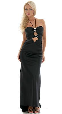 Gece elbiselerin de 2009 modelleri