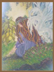 """""""Ángel, preciosa pintura de Nancy Velasquez- Cosenza"""