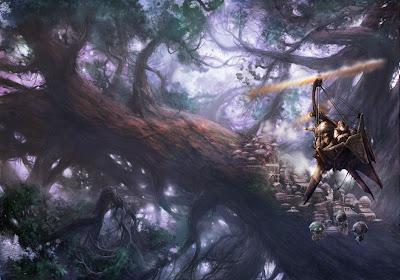 Chronicles Tree Wallpaper