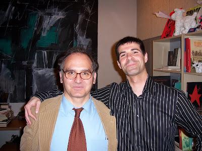 Gracia Mosteo con Roberto Malo