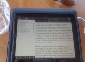 can i write an essay on an ipad 2 Ipad for academics, 2 years later i've tried using it to write and you can 't have two windows open at once in an ipad who can do serious academic work i can see and select text with a stylus that is smaller than i can essay a finger what is needed is some small amount of code in the system that.